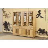 菲百年新中式禅意北美白蜡木家具11