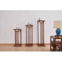 菲百年新中式禅意北美黑胡桃木家具10