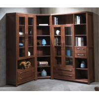 福多多家具:906#二门书柜、三门书柜、转角书柜