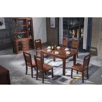 福多多家具:西餐桌、餐椅01#、间厅柜2020#