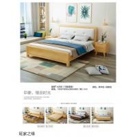 北欧风格家具,南康北欧实木套房,江西北欧实木床工程定制,旺家之缘家具