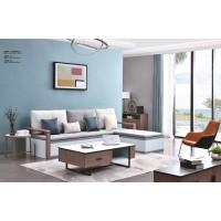 虔南世家意作系列家具:2166# 3+高箱转角沙发