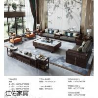 新中式乌金木家具,南康乌金木家具厂家,江西新中式套房家具厂家,江佑家具