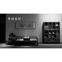 故宫博物馆家具,古典家具修复和设计,新中式黑胡桃木家具厂家,江西观颂家居有限公司