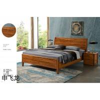 南康乌金木床,江西乌金色、胡桃色、紫金色实木床厂家,申飞龙家具,飞龙家具有限公司