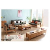 日式极简家具,江西南康北美红橡日式极简家具厂家,殳木家具,木匠德尔家具有限公司