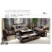 南康新中式风格家具,紫檀色新中式家具,江西新中式实木套房家具厂家,名仁居家具