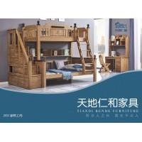 青少年儿童实木家具,儿童床、实木子母床厂家,儿童上下双层床,天地仁和家具