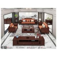 新中式风格实木家具,紫檀色新中式家具,新中式实木套房厂家,彬璇家具品牌招商