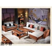南康虎斑木家具,江西虎斑木套房招商加盟,实木客厅家具厂家,益木春家具有限公司