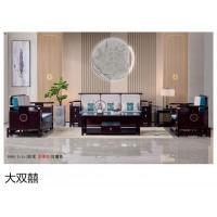 南康新中式实木家具,江西新中式沙发、电视柜、餐桌椅厂家,大双囍家具