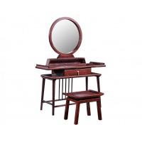 振玺家具赤金檀木时尚新中式H01#妆台妆凳