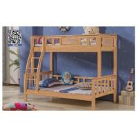 益志家具Y11#橡胶木挂梯子母床
