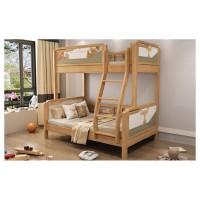 益志家具Y15#橡胶木挂梯子母床