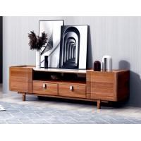 世华现代轻奢红檀木家具:912#1.8米电视柜