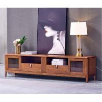 世华现代轻奢红檀木家具:912#两米电视柜