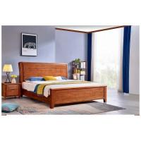 世华现代轻奢红檀木家具:2030#大床、008#床头柜