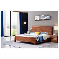 世华现代轻奢红檀木家具:2039#大床、005#床头柜