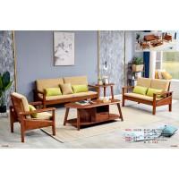 世华现代轻奢红檀木家具:9011#1+2+3沙发、9008#长茶几、9008#角几