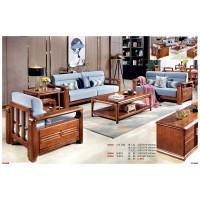 世华现代轻奢红檀木家具:9006#1+2+3沙发、9006#长茶几、9006#方茶几