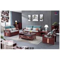 南康现代中式家具,江西紫檀色、紫金梨木色实木套房厂家,泰隆富康家具,大富康家具