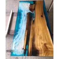 树脂原木大板桌,餐桌,赣州茶几桌定制,南康树脂办公实木大板定做,江西树脂河流桌厂家
