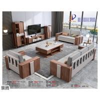 南康金丝檀木家具,北欧+现代极简风格混搭家具,江西金丝檀木轻奢套房家具,景腾家具
