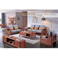 长城紫金檀木A920#1+2+3沙发
