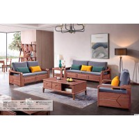 长城紫金檀木A916#1+2+3沙发(冬夏两用款)