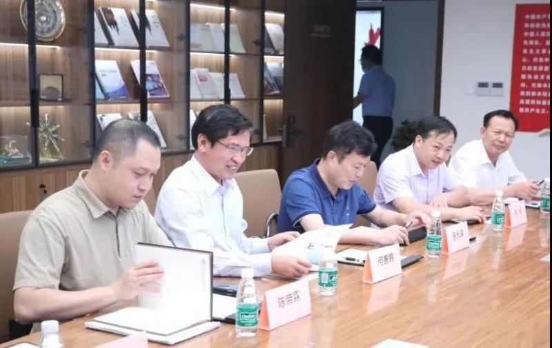 赣州市南康区委书记何善锦一行访问中国家具协会4