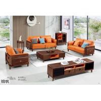 南美胡桃木家具,现代中式极简主义家具,现代简约南美胡桃木套房家具厂家,锦帆家具