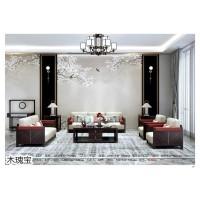 木瑰宝家具,南康新中式实木家具品牌招商,江西时尚轻奢新中式套房生产厂家