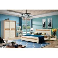 康名箭·北欧映橡实木家具,南康北欧风格家具,江西现代北欧实木套房生产厂家